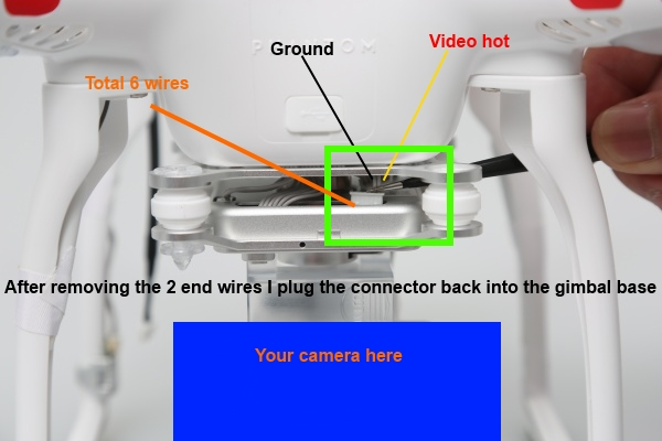 phantom gauge wiring diagram vision+ stock fpv with 3rd party camera..... working | dji ... phantom fc40 wiring diagram