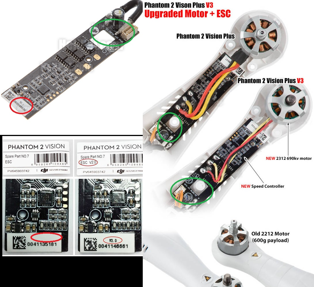 Dji Phantom 2 Wiring Diagram Motor Trusted Diagrams Causes Of Esc Failures Test Results Forum Schematics