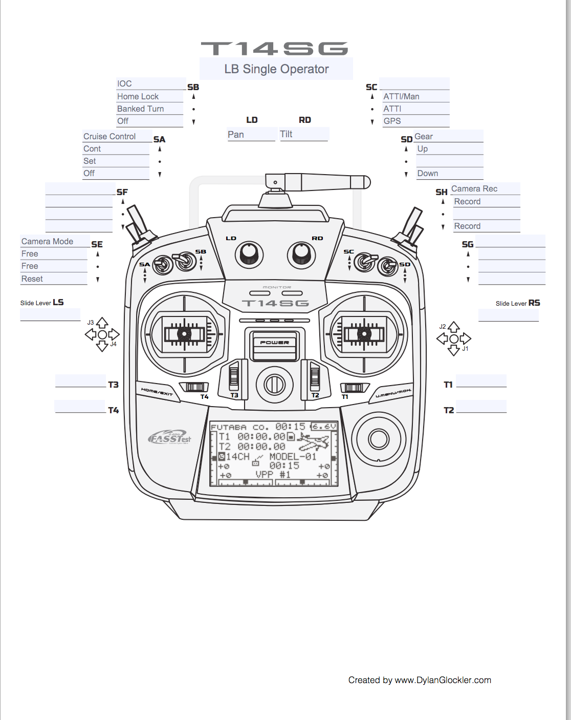 futaba dji wiring diagram