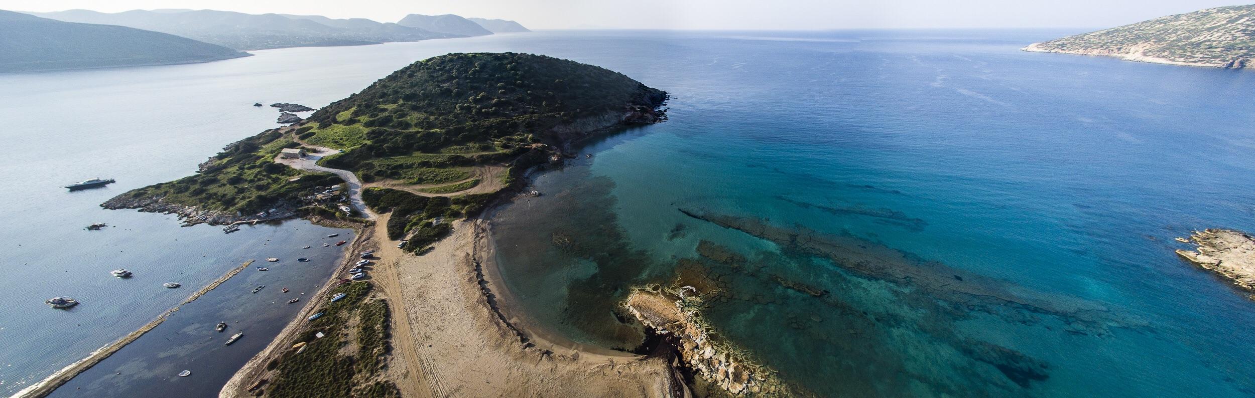 Anavyssos on the coast of Athens