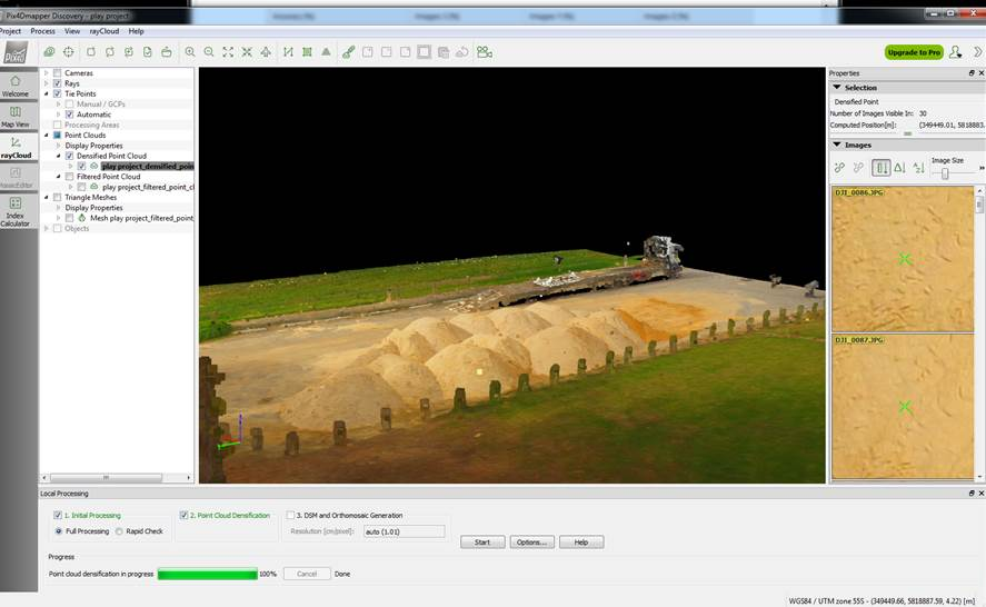 Topographical use PIX4D | DJI FORUM