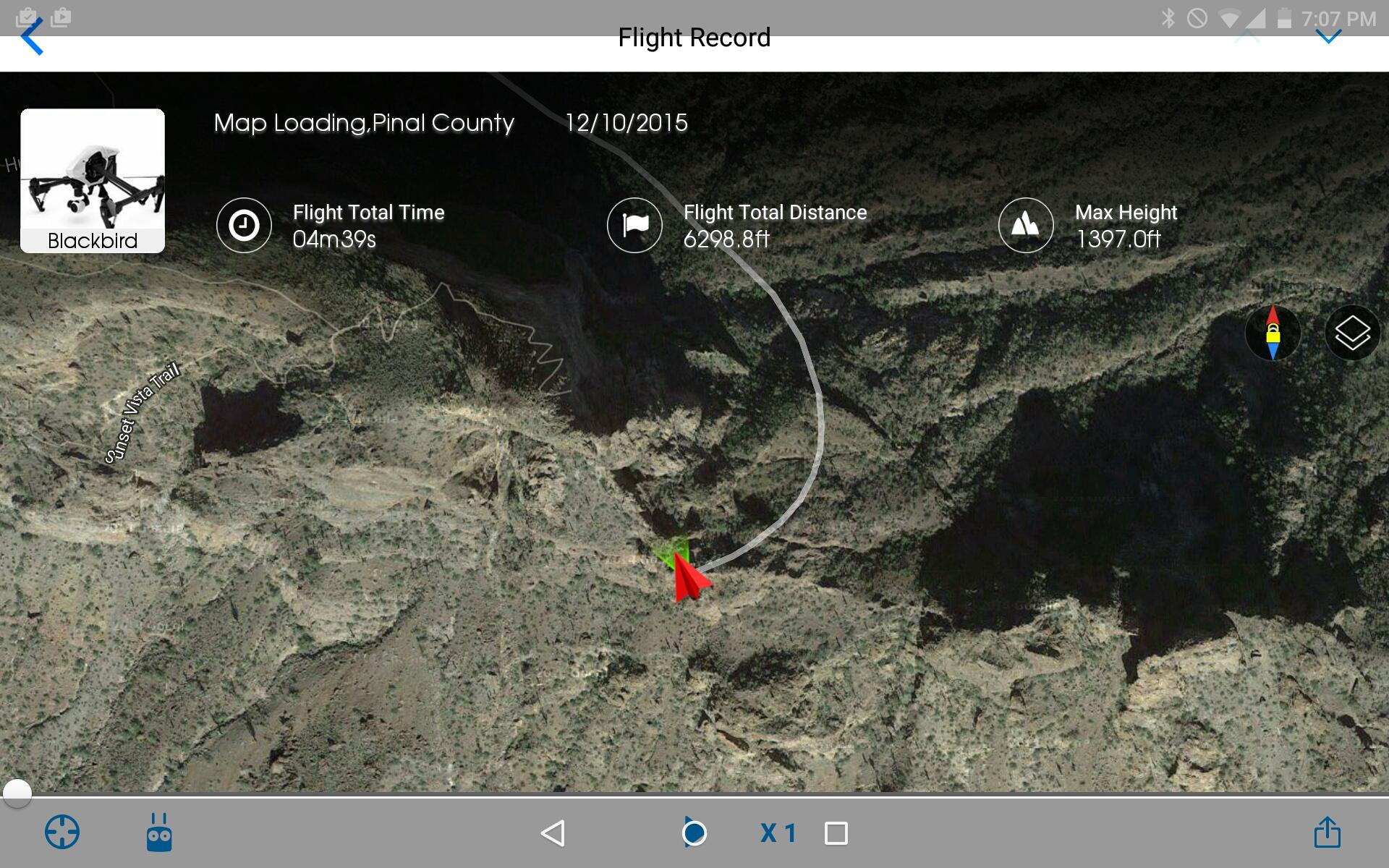Last Known Location at Picacho Peak