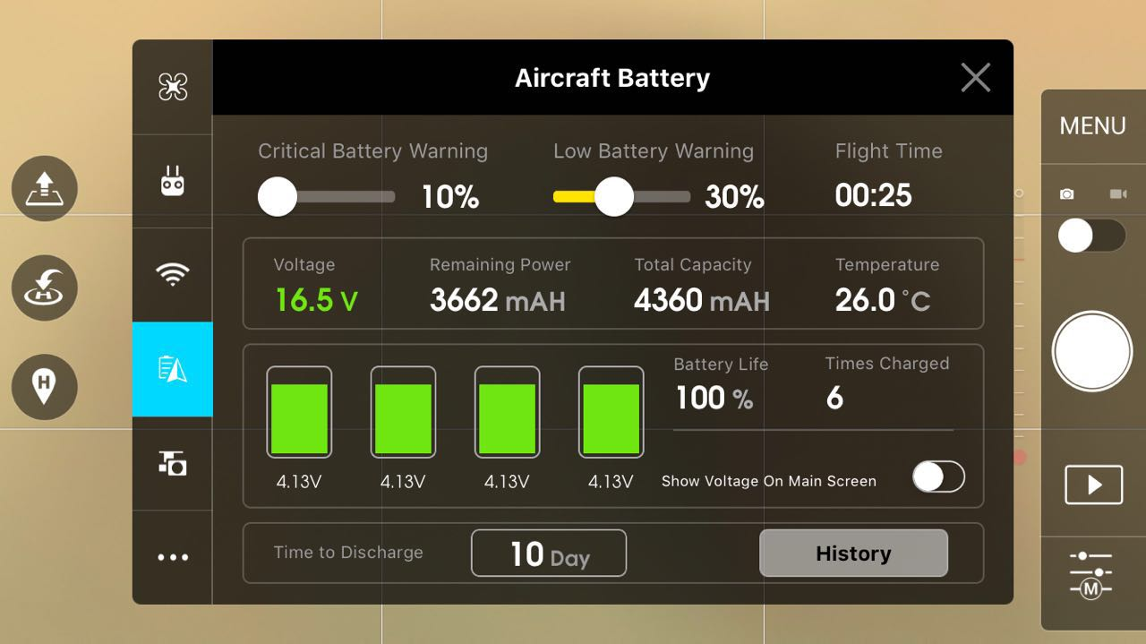 How Do Intelligent Batteries Work Dji Forum Make A Battery Protection Circuit Low Voltage Cutoff All There Are Some Advanced Functions Like The Inspire 1s Smart Rth