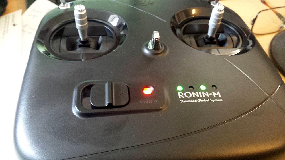 Ronin M Controller LEDs