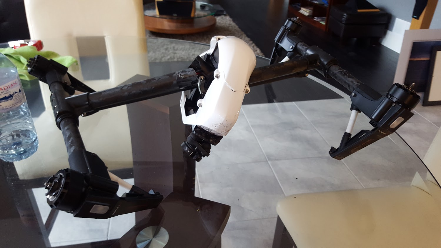 Broken drone