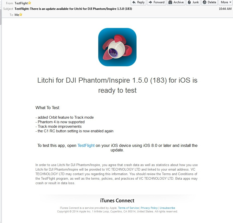Litchi App now supports P4 | DJI FORUM