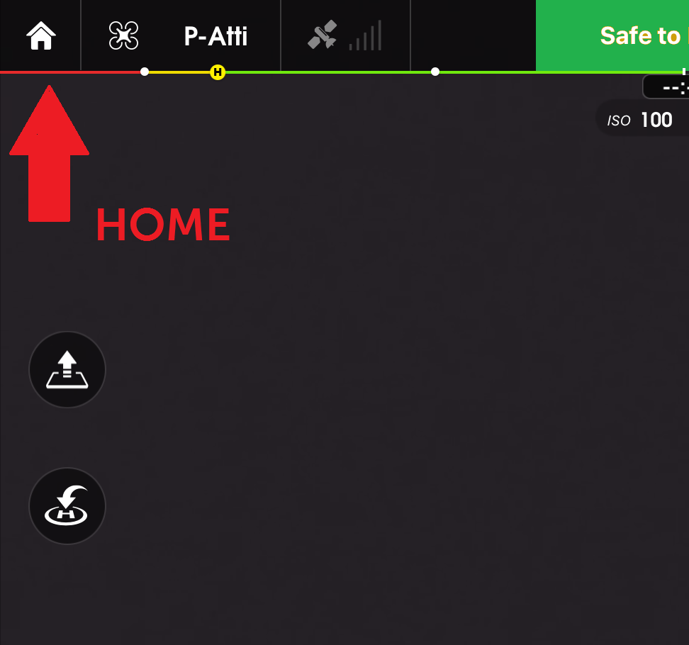 Return Home button greyed out-will not work | DJI FORUM