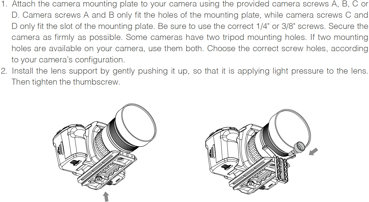 Mounting the lens support.png