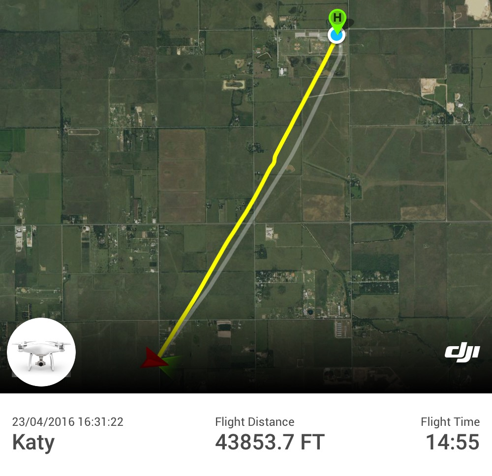 Long Distance Flight on Latest Firmware