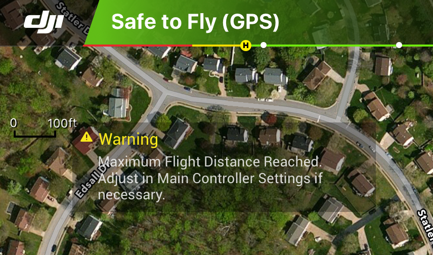 Distance setting issue | DJI FORUM