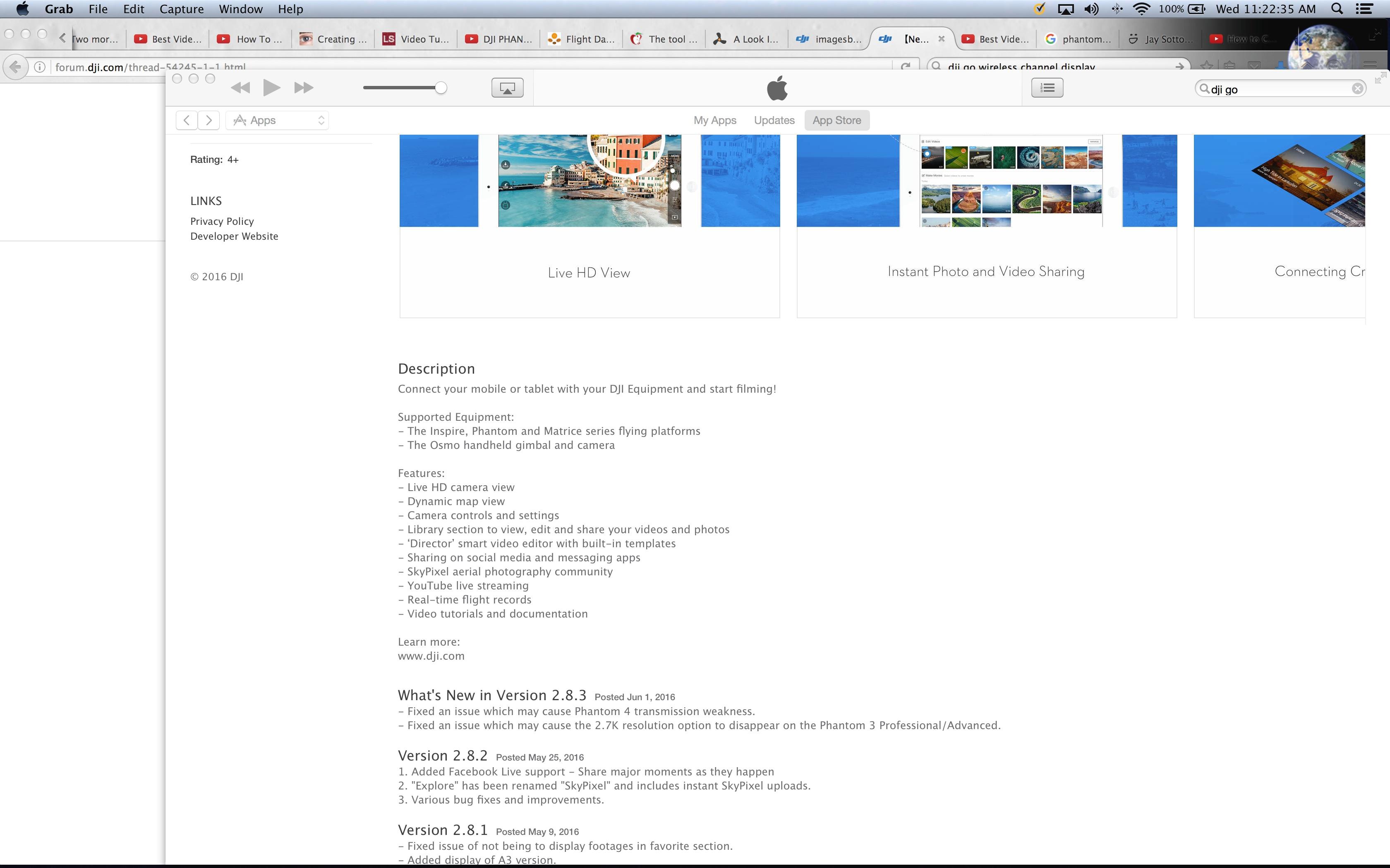 2.8.3 Description in iTunes (and app store)