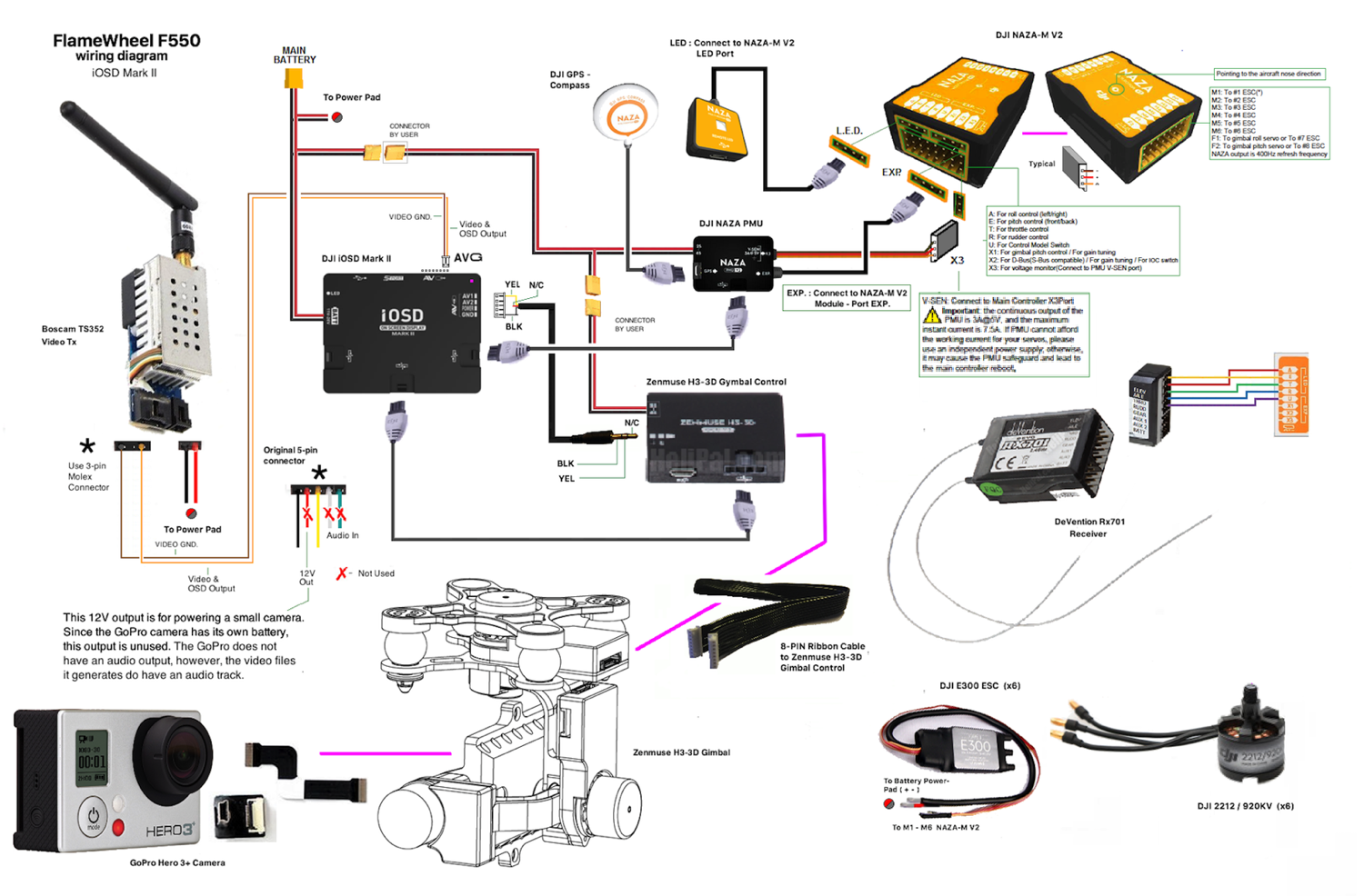 naza mv2 wiring diagram wiring diagram for you all u2022 rh onlinetuner co