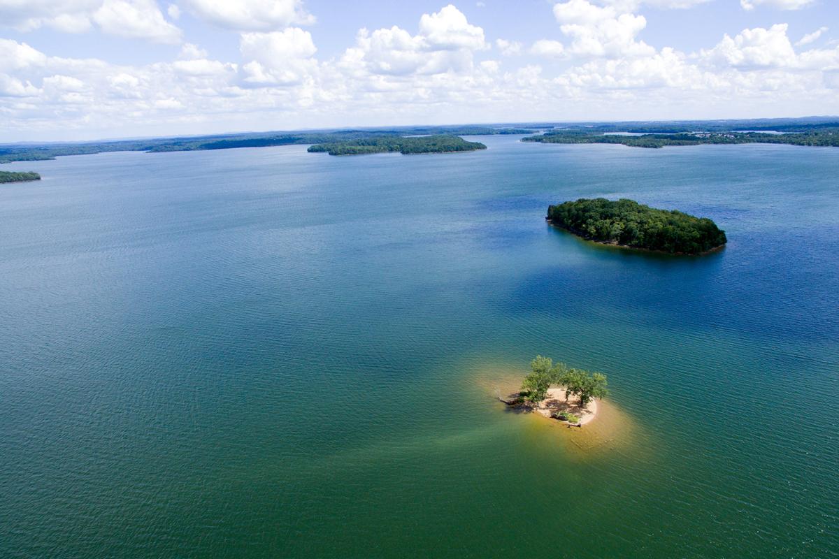 Camp Island,J. Percy Priest Lake,Nashville,Tennessee   DJI ...