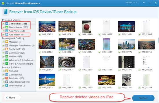 Recover video from iPad? | DJI FORUM