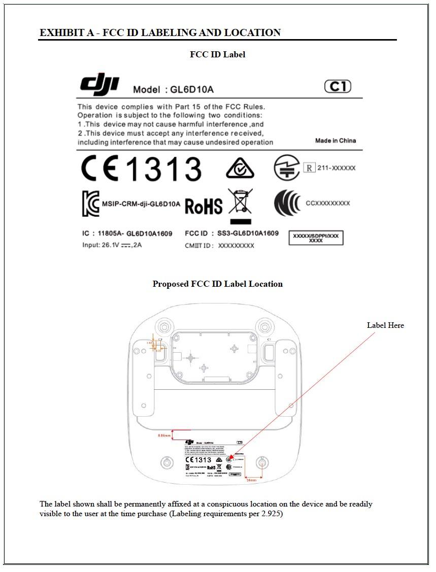 FCC ID Label