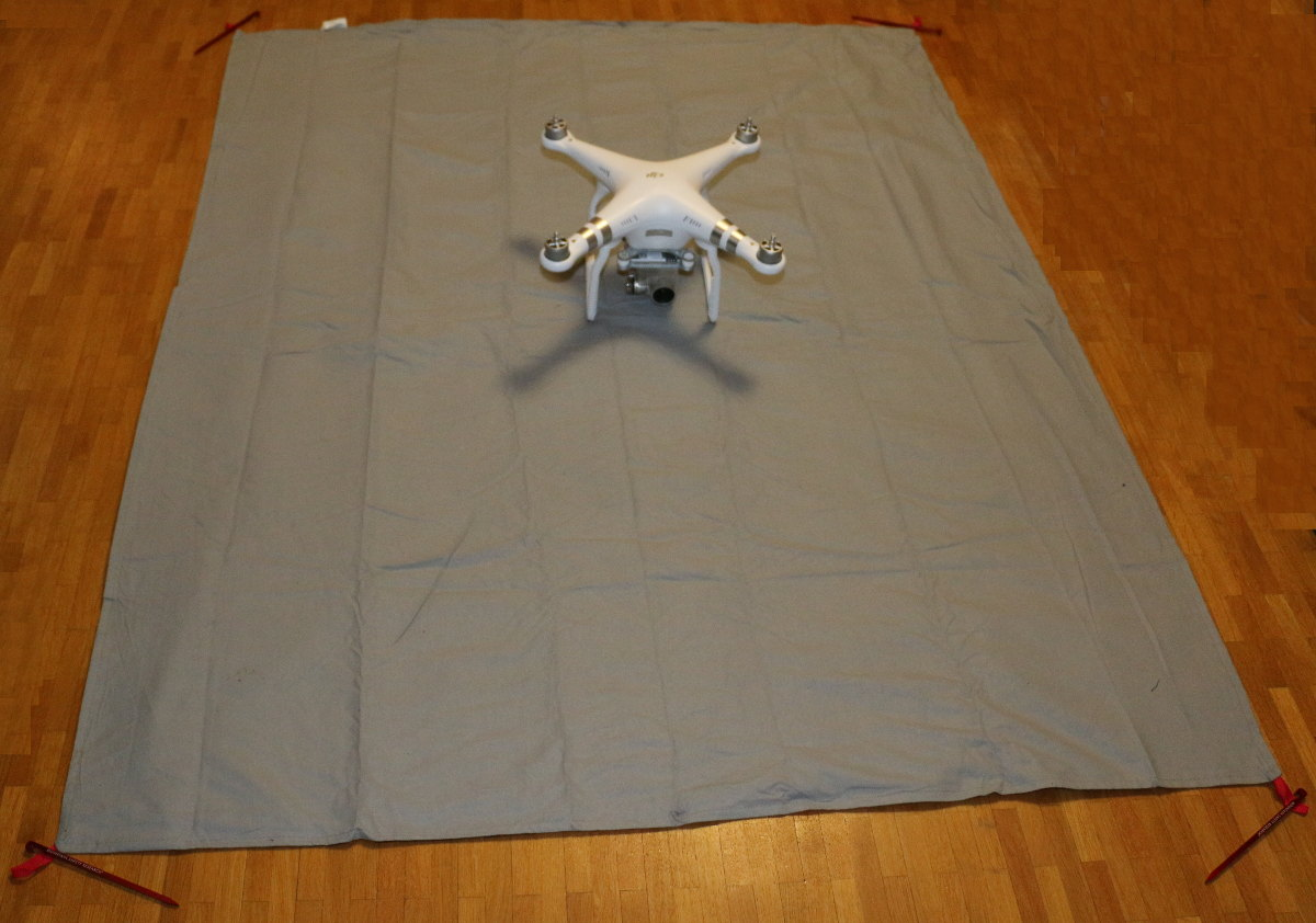 My portable landing pad