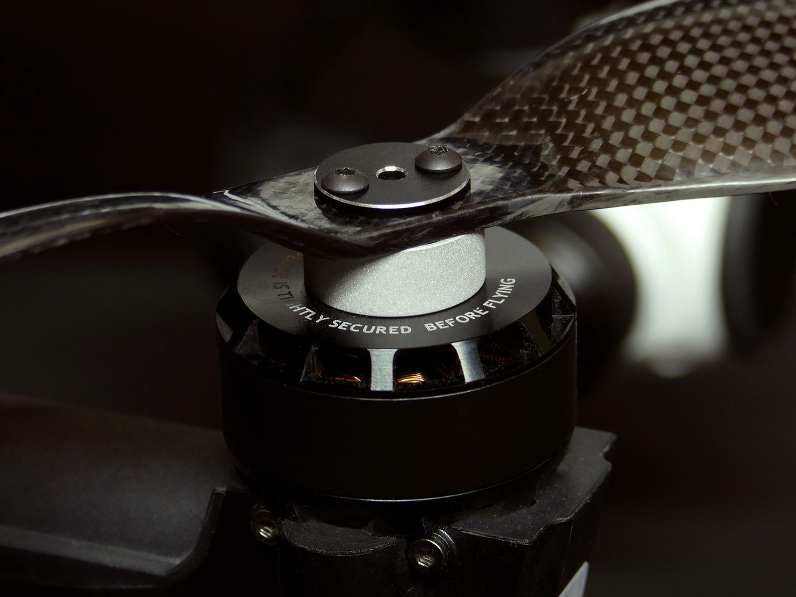 Inspire 1 carbon fiber propeller adapter