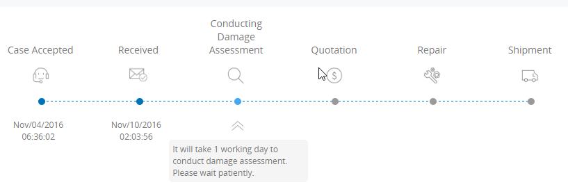 Status Update on Website