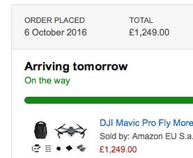finally on its way!