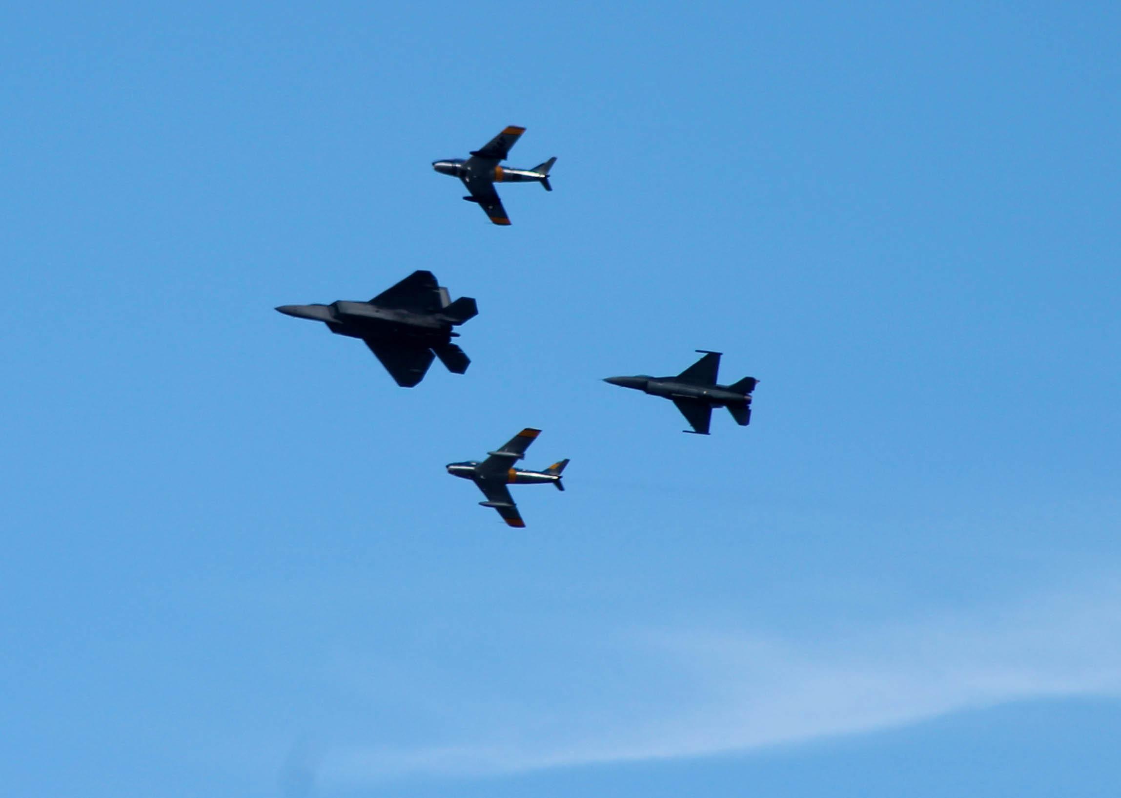 Heritage Flight Formation