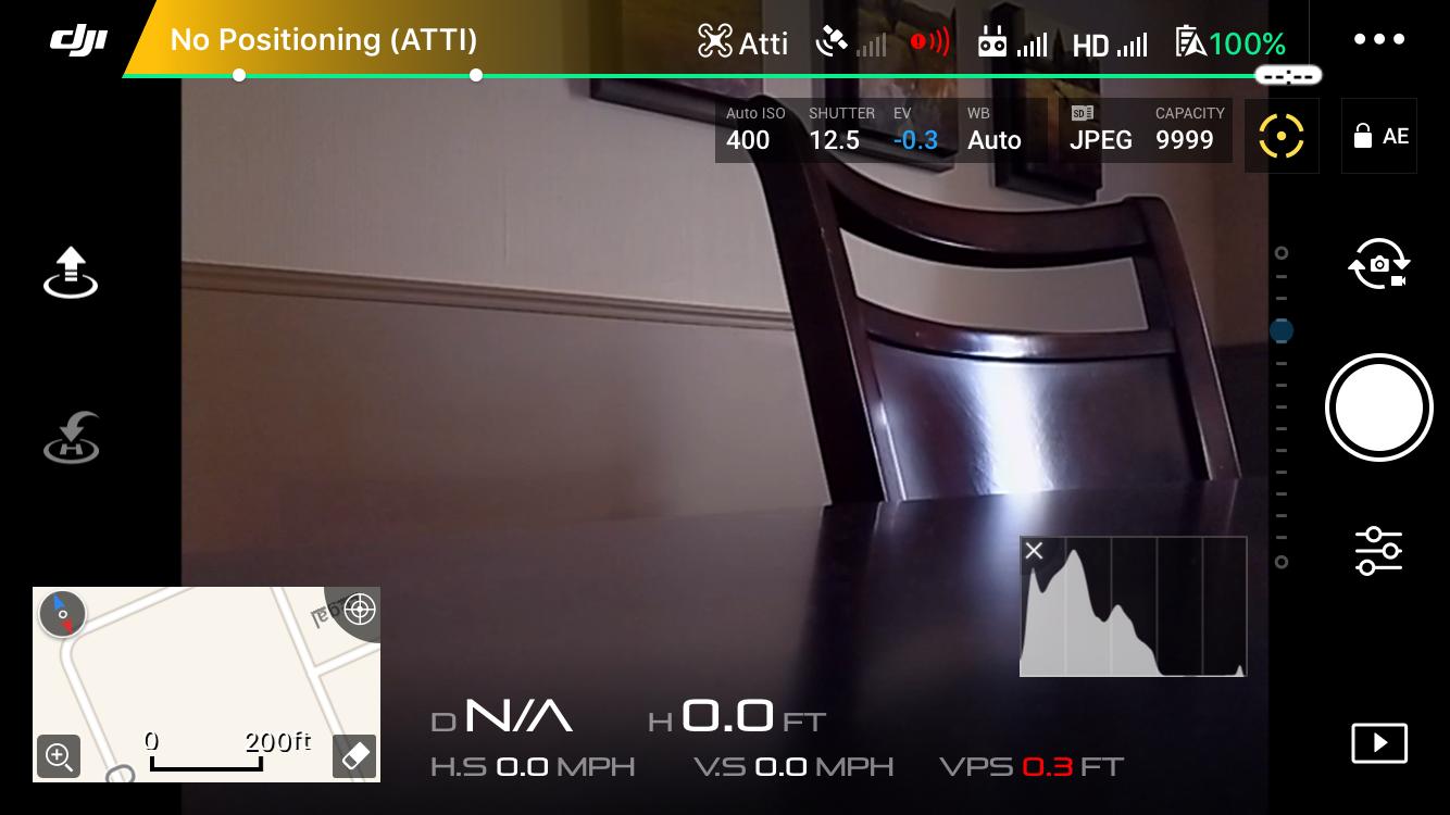 Screen shot - narrow display