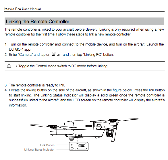 mavic 2 pro zoom firmware update conection problem