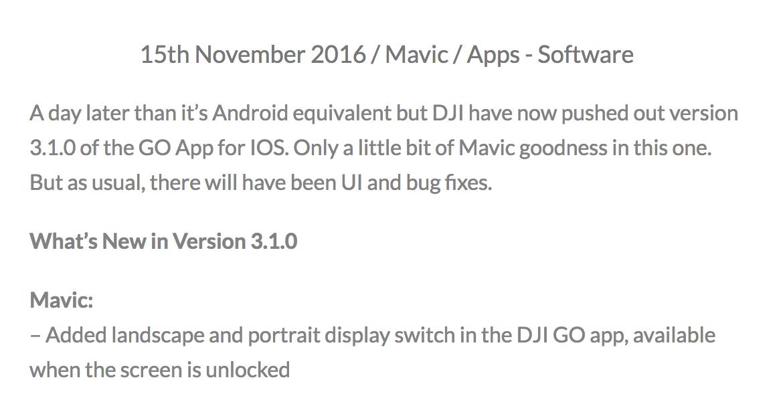 http://www.mavic-guide.co.uk/dji-go-app-3-1-0-ios/