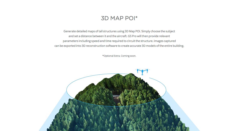 3D map POI