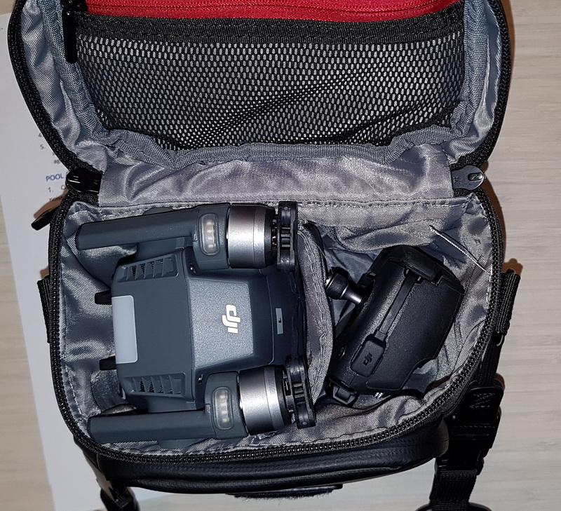 Mavic pro combo bag купить защита от падения черная combo