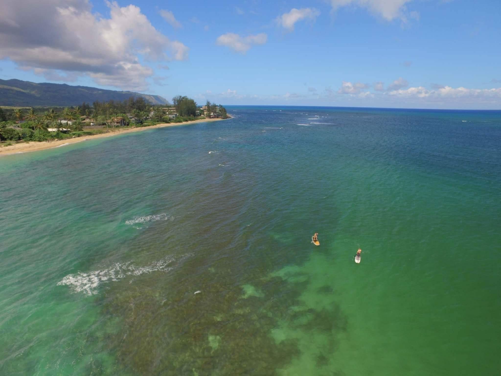 Waialua Beach SUP