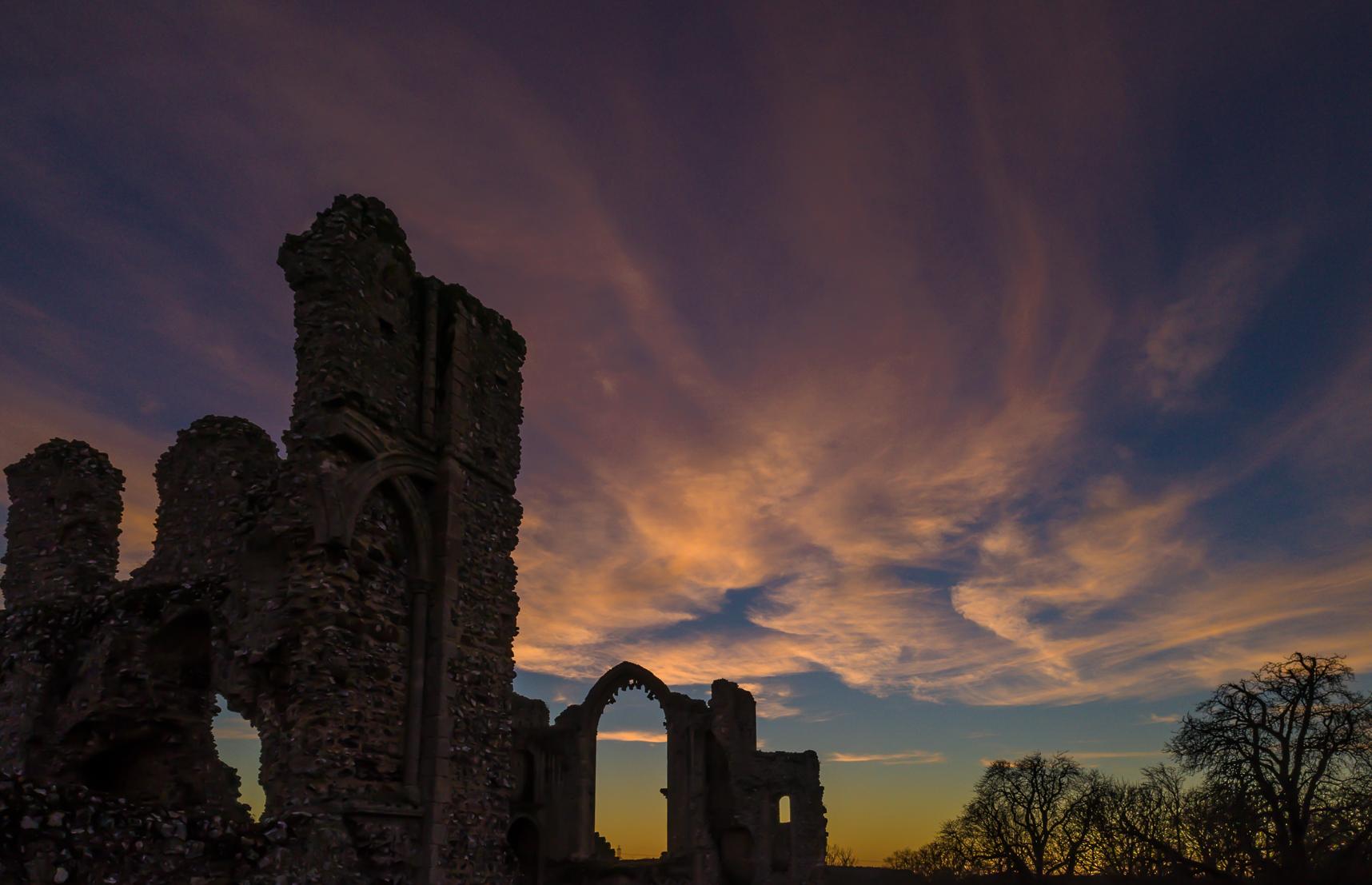 Castle Acre Priory.