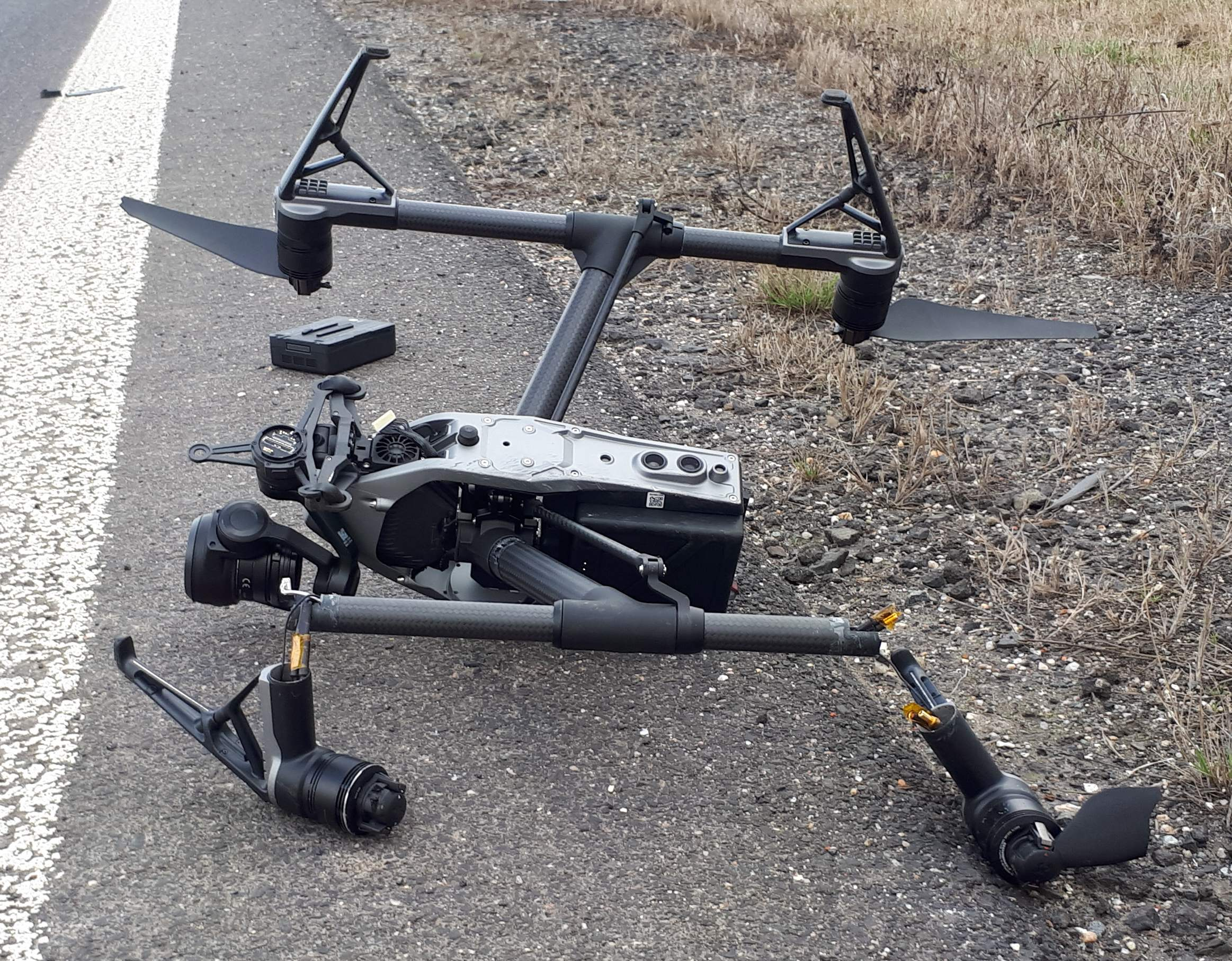 Inspire 2 Crash For Unknown Reason