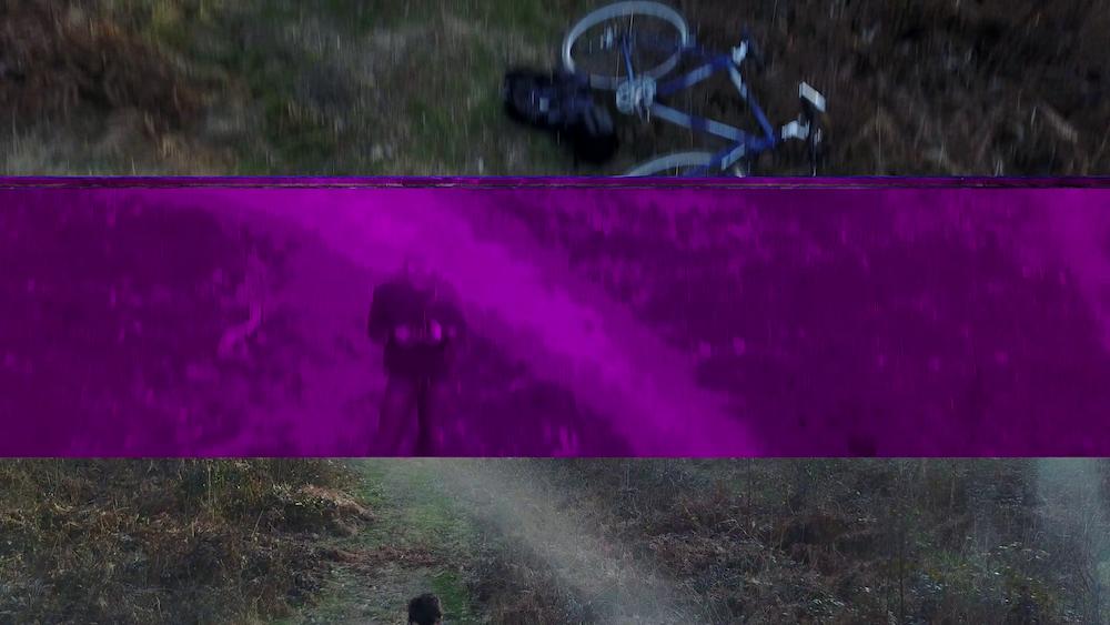 pink strip on video - Mavic Pro