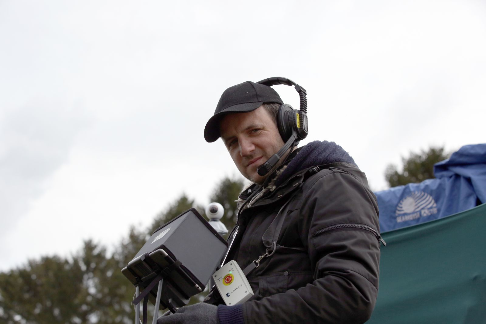 The Pilot ( LiveDrone), Thomas Jumel, with the emergency remote