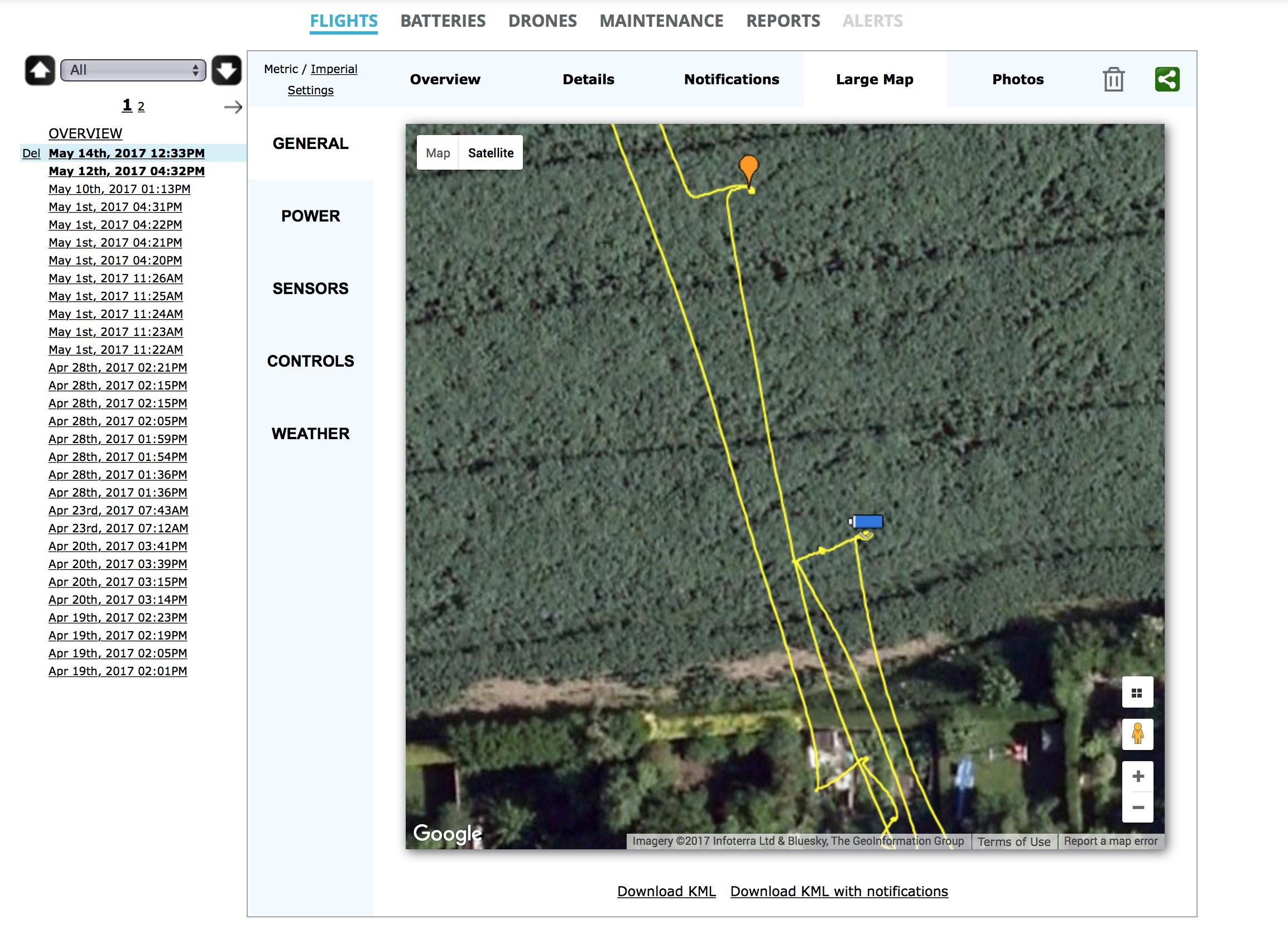 AirData Screenshot