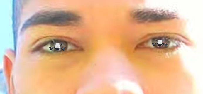 just zoom into the eyes