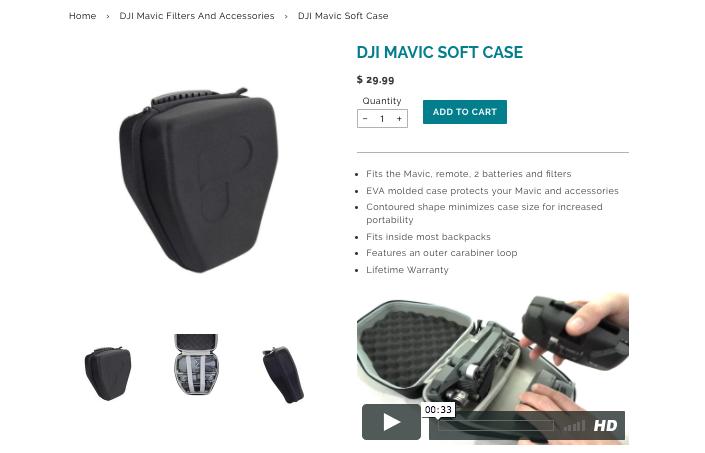 PolarPro Soft Case