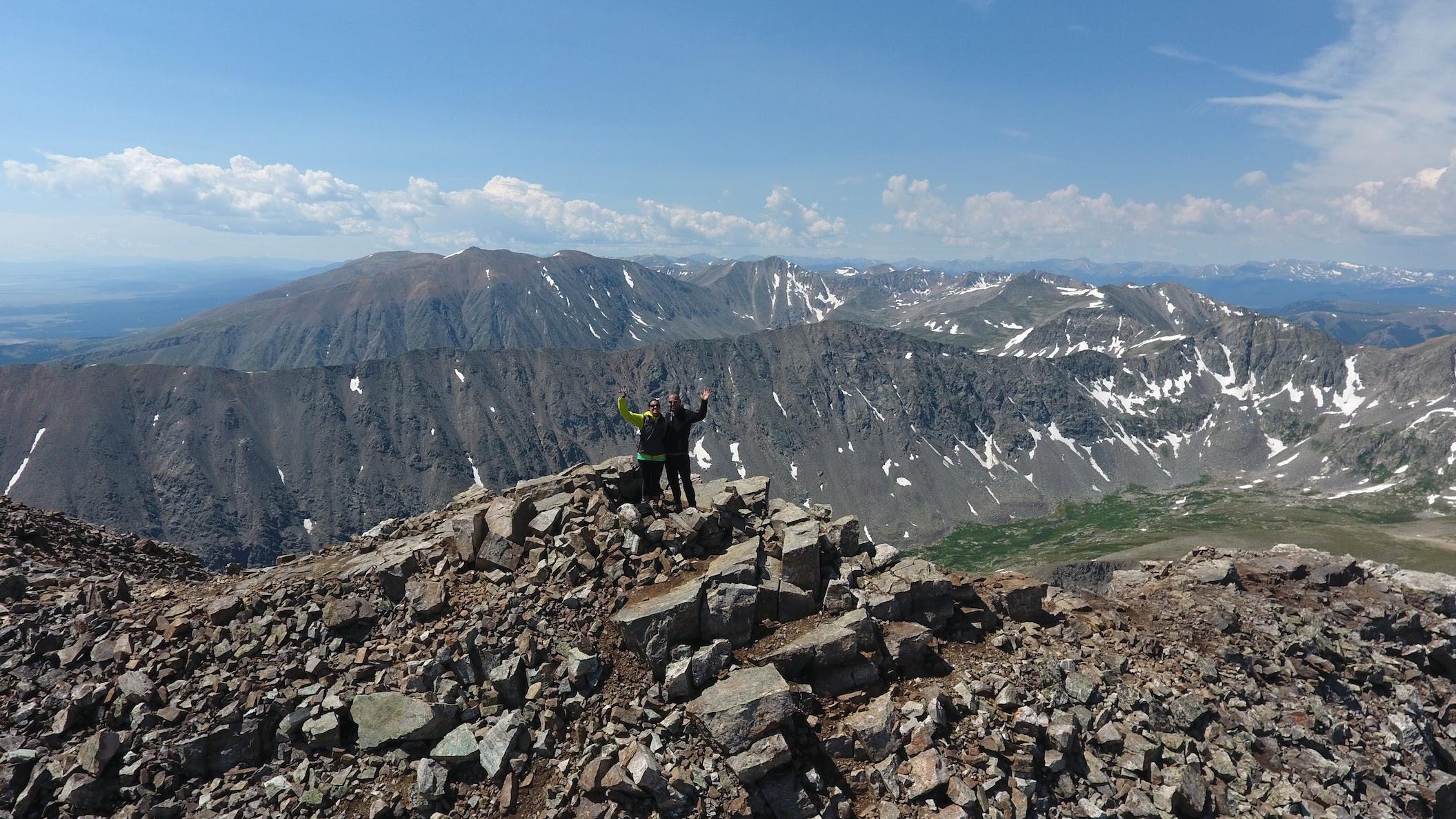 Quandary Peak_July 2016 14,265'