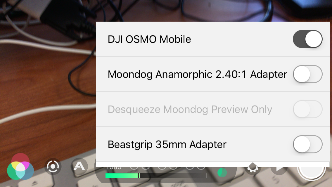 Problem with connection to DJI OSMO Mobile from Filmic Pro App | DJI