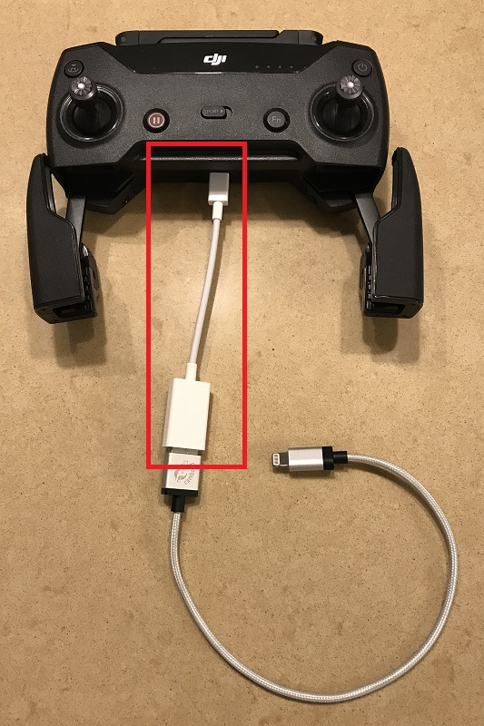 Best Cable For Connecting Rc To Iphone And Ipad Dji Forum