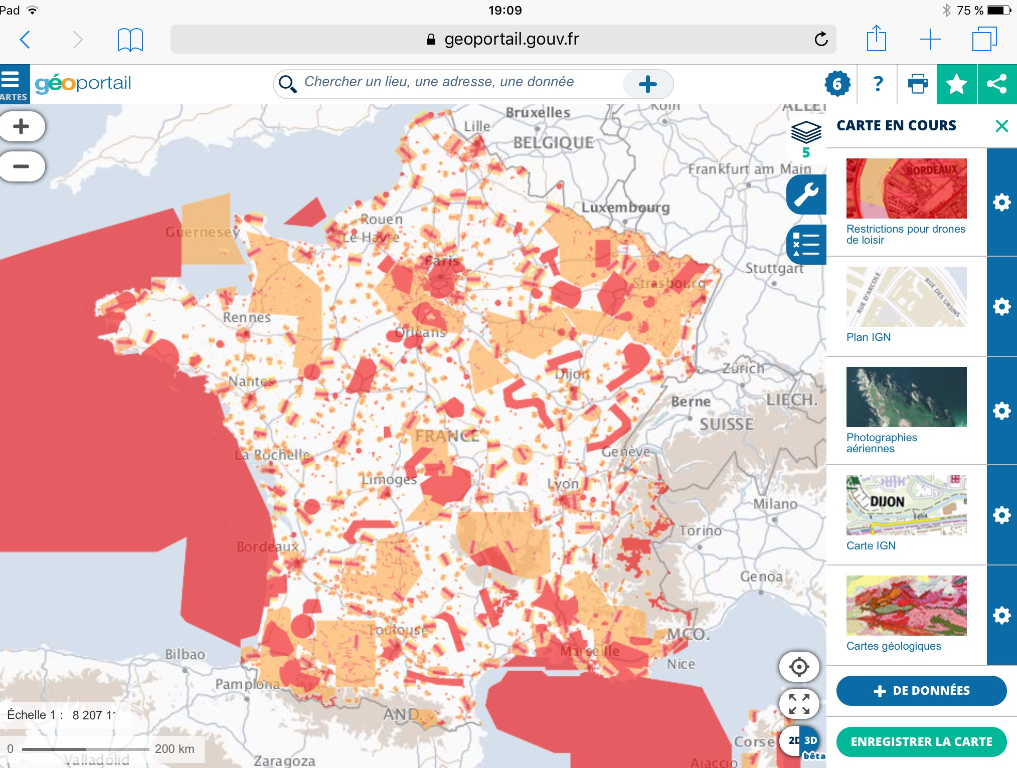 Map Of France Zones.Drone No Fly Zones France Site Dji Forum