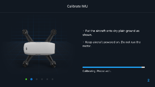 DJI Spark IMU Calibration Stuck On 2/6 | DJI FORUM