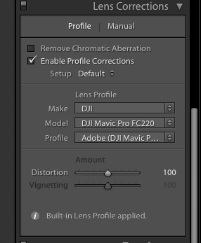 Mavic Lightroom/PS Lens Profile | DJI FORUM