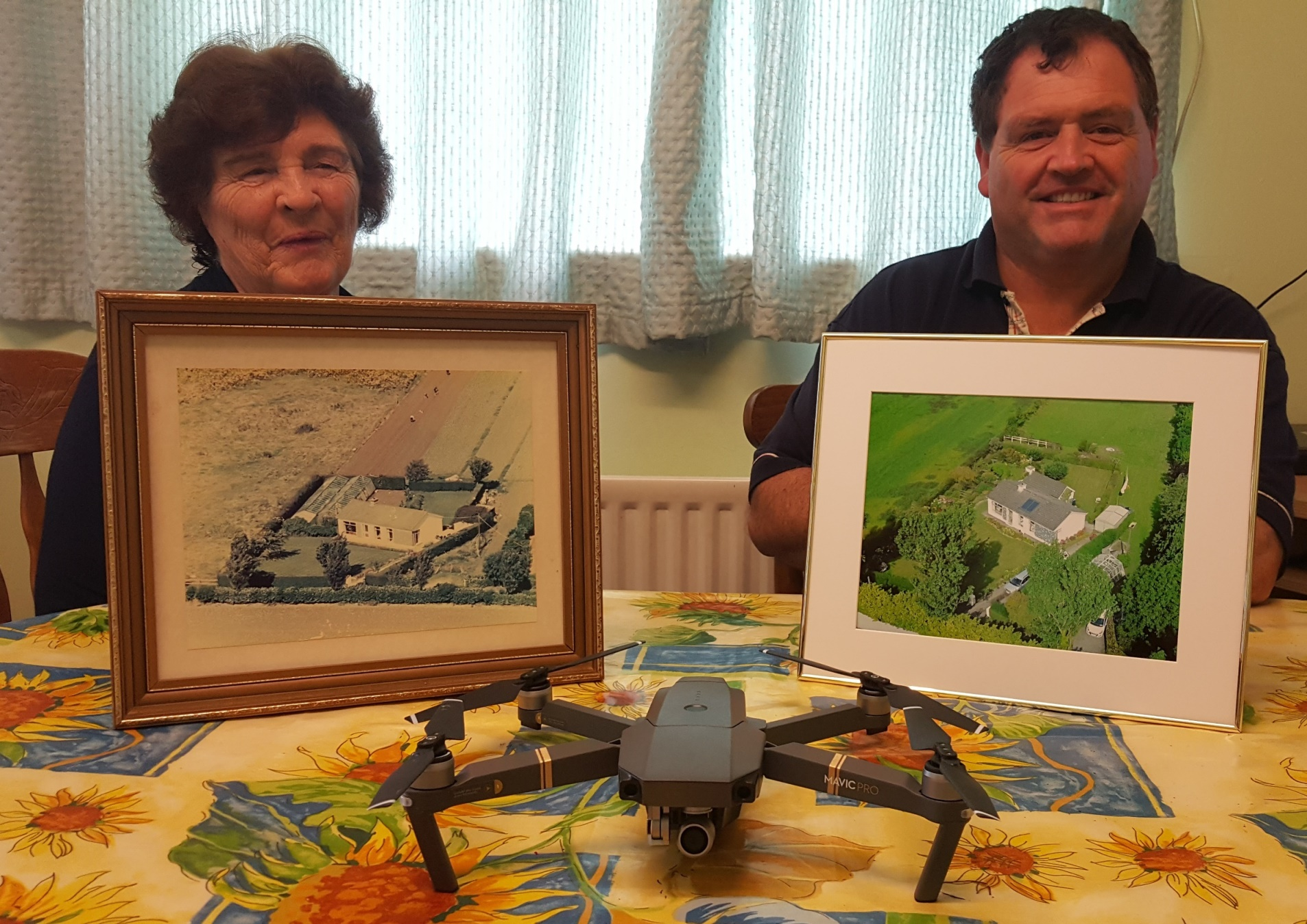 Mum With Brother And DJI Mavic Pro