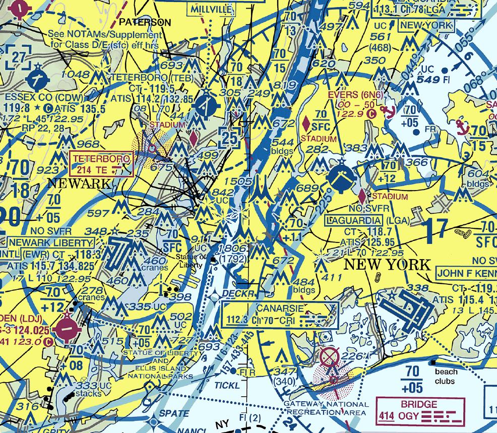 NY Sectional Chart
