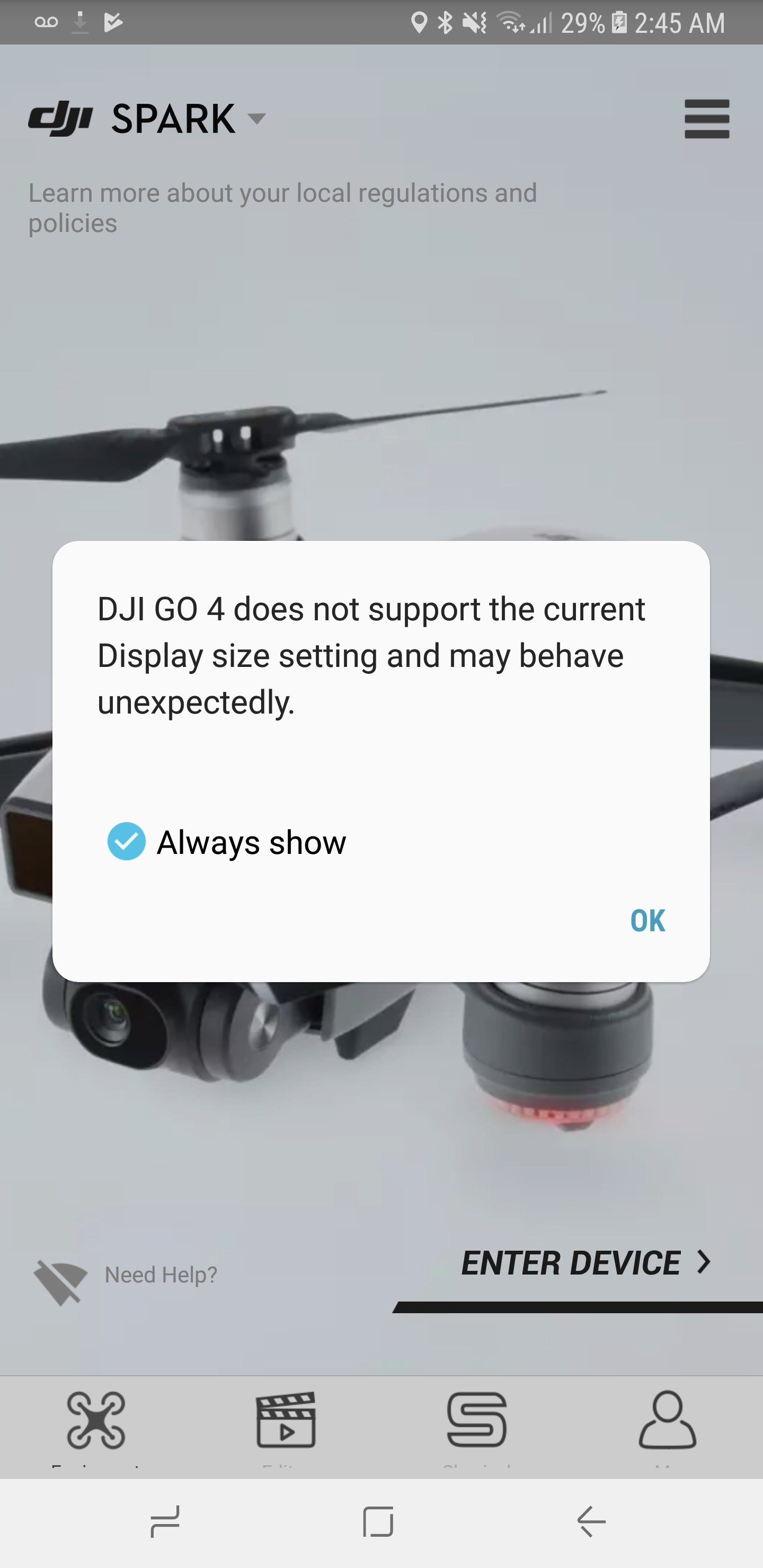 dji go for products before p4 apk download