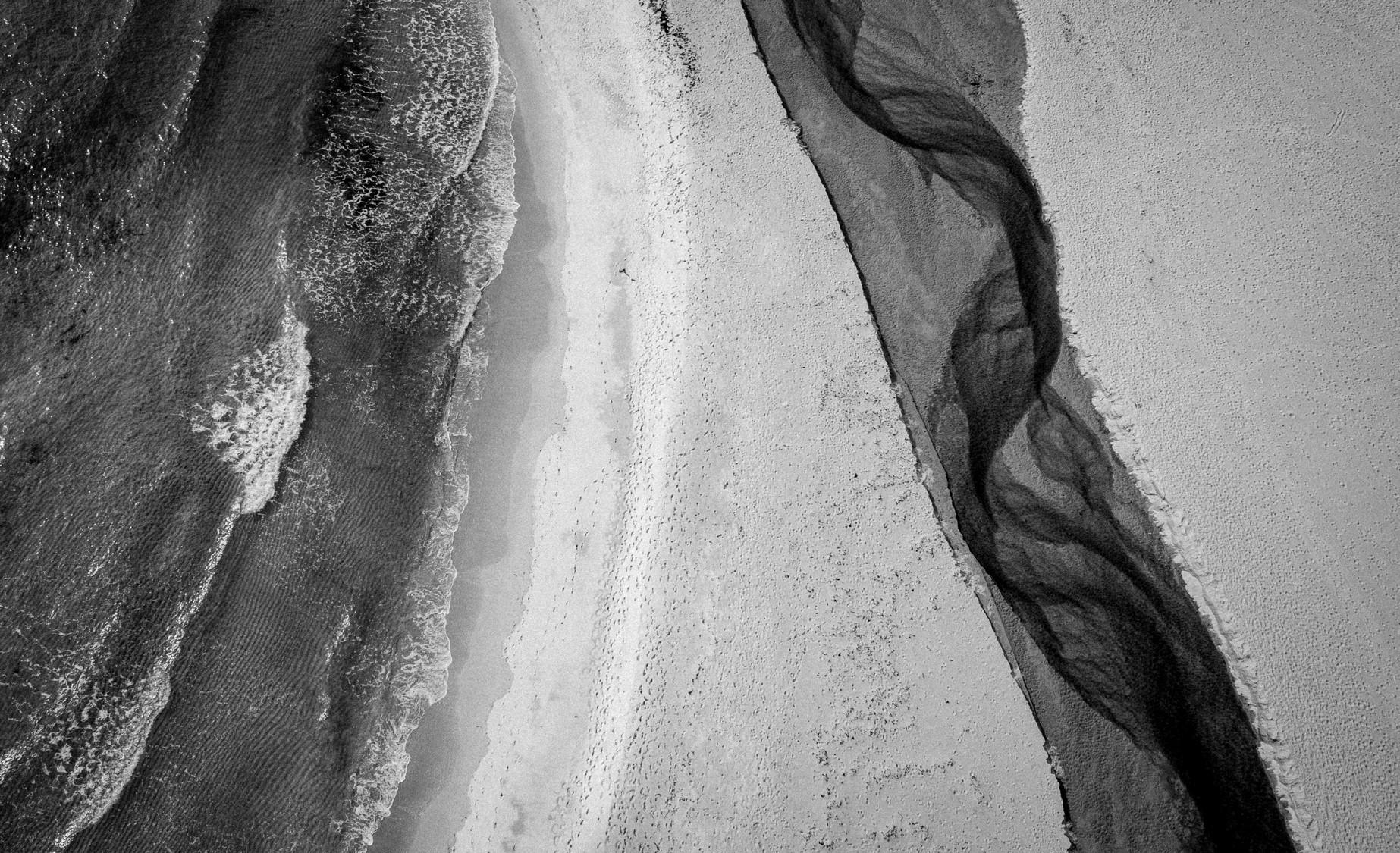 Beach divided
