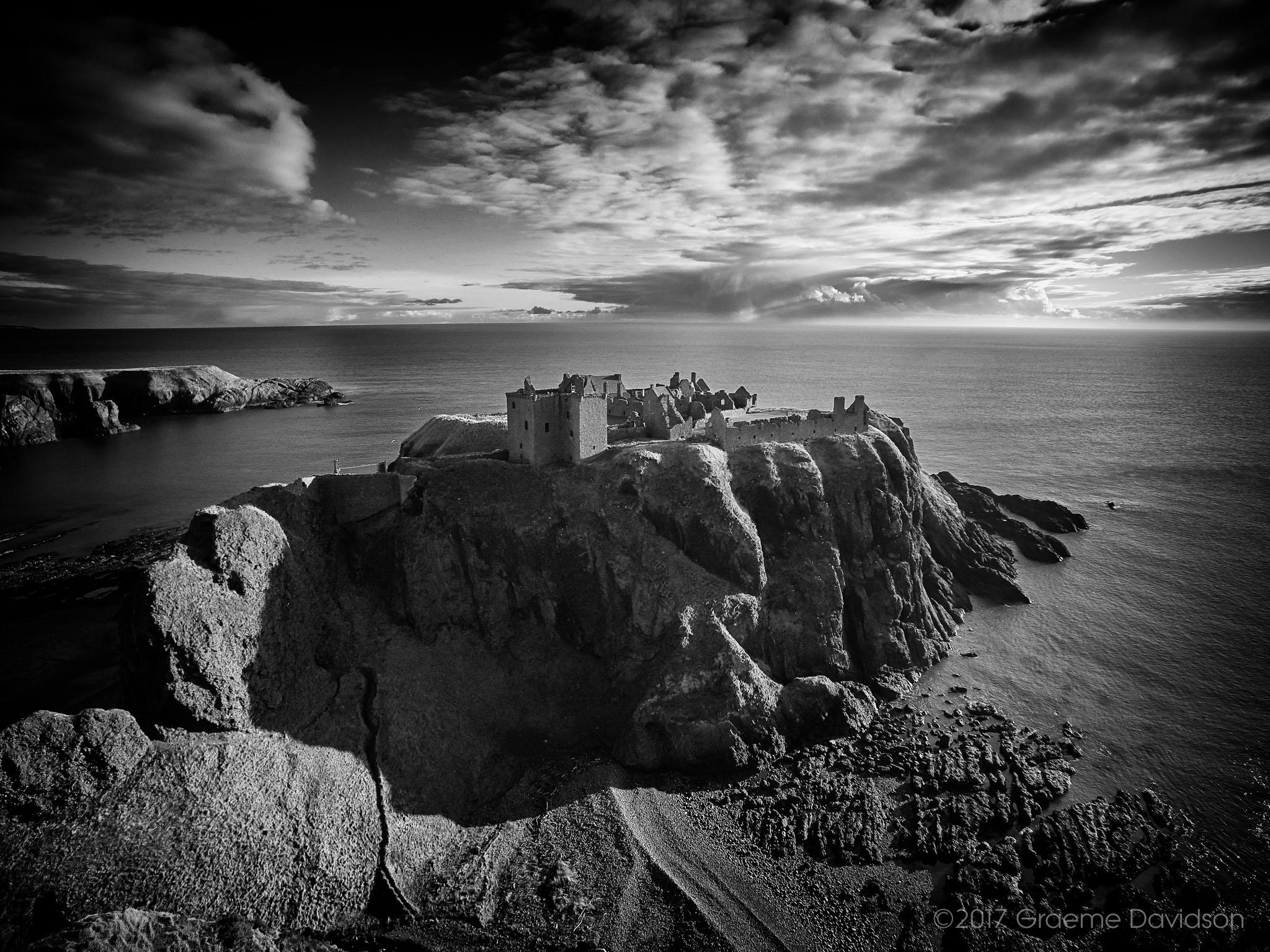 Dunnottar Castle BW1