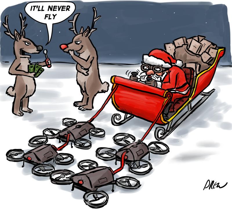 DJI Reindeer Drones