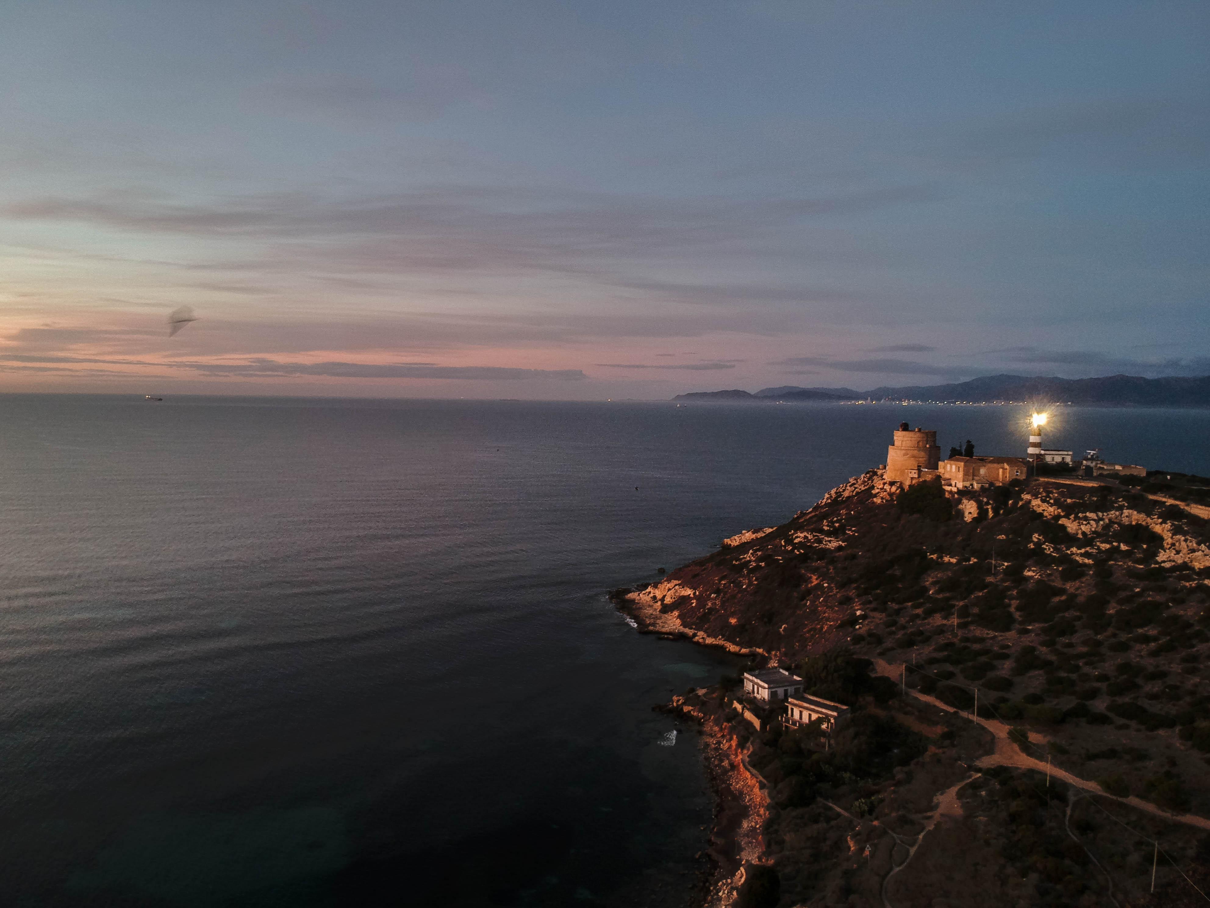 Capo S.Elia sunrise